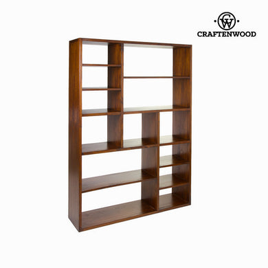 Shelves (33 x 180 x 130 cm) Mindi wood Walnut - Serious Line Collection