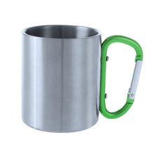 Load image into Gallery viewer, Mug with Carabiner Handle (210 ml) 144509