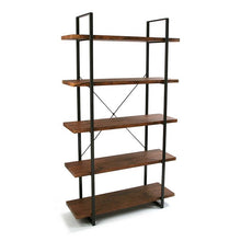 Load image into Gallery viewer, Shelves Wood 5 Shelves (33 x 179 x 100 cm)