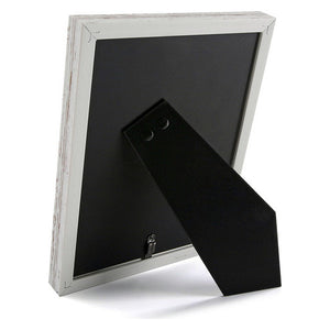 Photo frame Vintage MDF Wood White