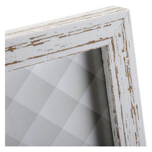 Load image into Gallery viewer, Photo frame Vintage MDF Wood White