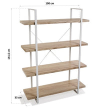 Load image into Gallery viewer, Shelves Wood (33 X 141 x 100 cm)