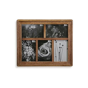 Wall photo frame (2 x 30,5 x 35,5 cm) Wood