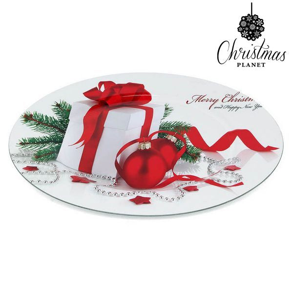 Decorative Plate Christmas Planet 1147