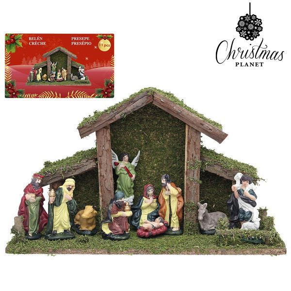 Christmas nativity set Christmas Planet 4448 (9 pcs)