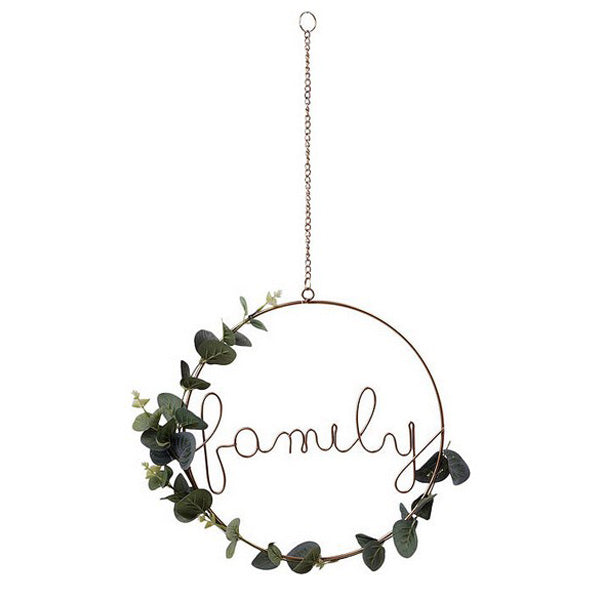 Sign Family Golden (ø 31 cm) 118270