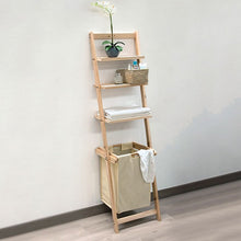 Load image into Gallery viewer, Bathroom Shelves Wood 110006 (3 Shelves)