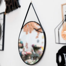 Load image into Gallery viewer, Hanging mirror Black 111836