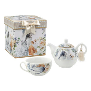 Toy Tea Set Tea For One 116182 Cats