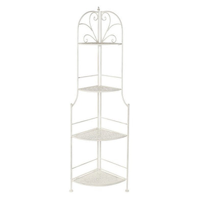 Shelves Dekodonia White Metal (49 x 35 x 159 cm)