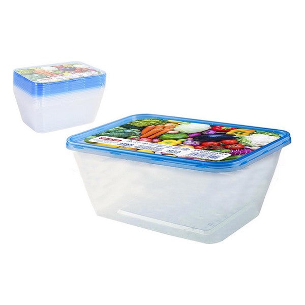 Set of 8 lunch boxes Privilege 1L