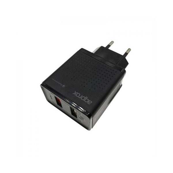 Wall Charger approx! APPUSBWALLQC 18W Black