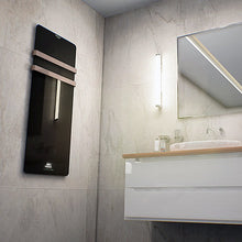 Load image into Gallery viewer, Electric Towel Rail Cecotec Ready Warm 9890 LED 20 m² 850W Black