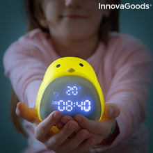 Load image into Gallery viewer, Rechargeable Tactile Silicone LED Alarm Chick InnovaGoods