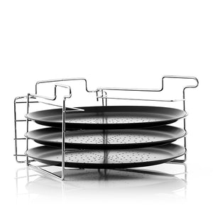Baking tray Pizza Set Tower 6 Pieces