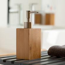 Load image into Gallery viewer, Soap Dispenser Bamboo