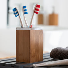 Load image into Gallery viewer, Toothbrush Holder Bamboo