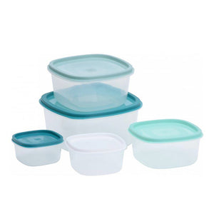 Set of lunch boxes Scale 5 Pieces