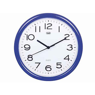 Wall Clock Blue (25,5 cm) (Refurbished A+)