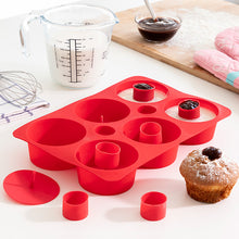 Load image into Gallery viewer, Tasty American Silicone Mould for Filled Cupcakes