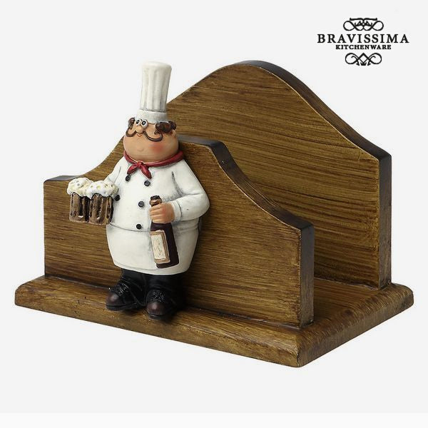 Napkin holder  Bravissima Kitchen 8953 (13 x 10 x 10,1 cm)