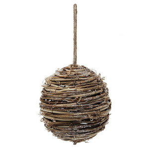 Christmas Baubles Christmas Planet 4502 14 cm Wood Brown