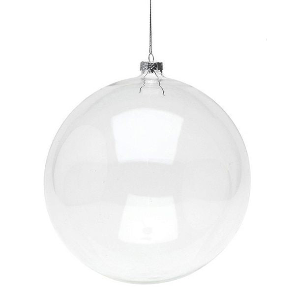 Christmas Bauble 8866 20 cm Crystal
