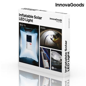 InnovaGoods Inflatable Solar LED Light