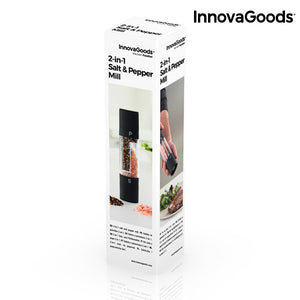 InnovaGoods 2 in 1 Salt and Pepper Mill