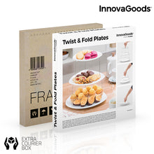 Load image into Gallery viewer, InnovaGoods Twist & Fold Plates