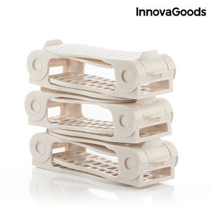 InnovaGoods Shoe Rack Adjustable Shoe Slots (6 Pairs)