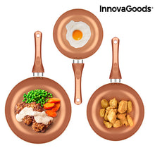 Load image into Gallery viewer, InnovaGoods Copper-Effect Pan Set (5 Pieces)