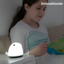 Load image into Gallery viewer, InnovaGoods Rechargeable Silicone Lamp Whale