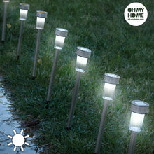 Load image into Gallery viewer, Oh My Home Torch Garden Solar Lights (pack of 7)