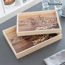 Load image into Gallery viewer, Homania Set of Trays (2 Pieces)