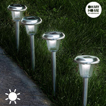 Load image into Gallery viewer, Oh My Home Torch Circular Solar Light (Pack of 4)