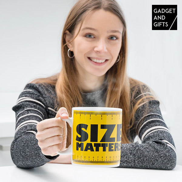 Gadget and Gifts Size Matters XXL Mug
