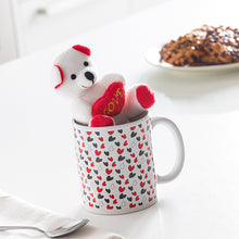 Load image into Gallery viewer, Love Mug with Hearts and Little Bear