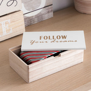 Dreams Wooden Box