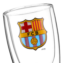 Load image into Gallery viewer, F.C Barcelona Double Bottom Beer Glass