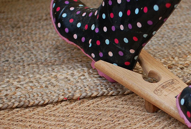 Organic bell tent flooring for camping and glamping
