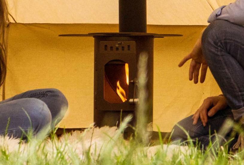 Camping stoves and ovens