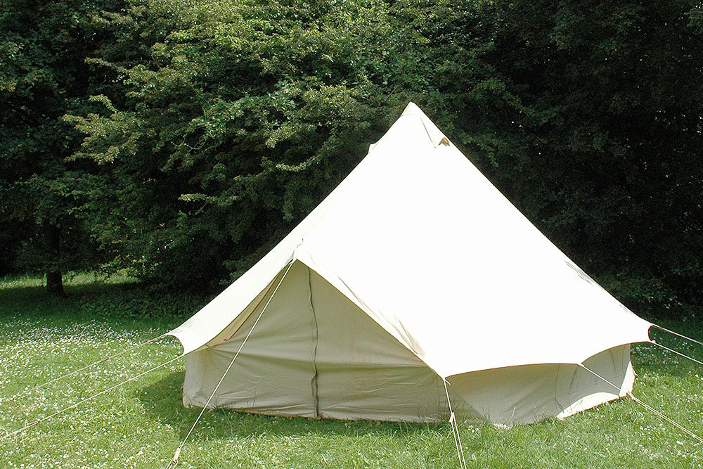 Bell tent uk's first cotton canvas tent