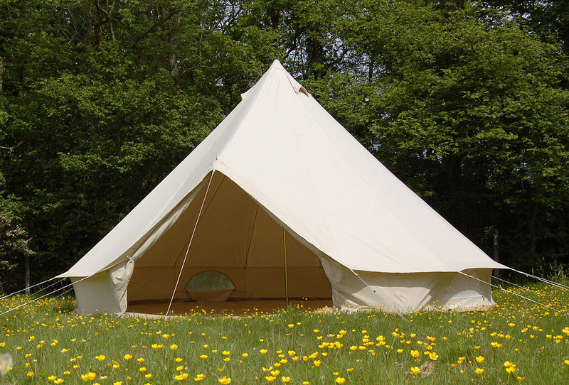 100% cotton canvas bell tent