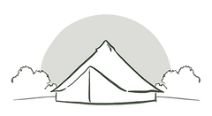 Illustration of a Bell Tent.
