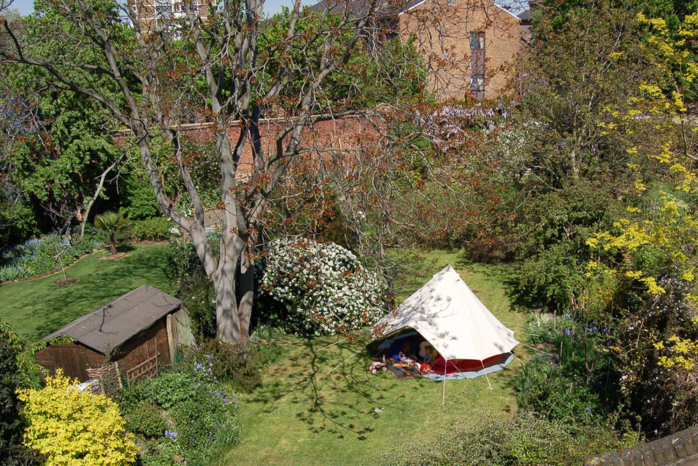 Bell tent play room