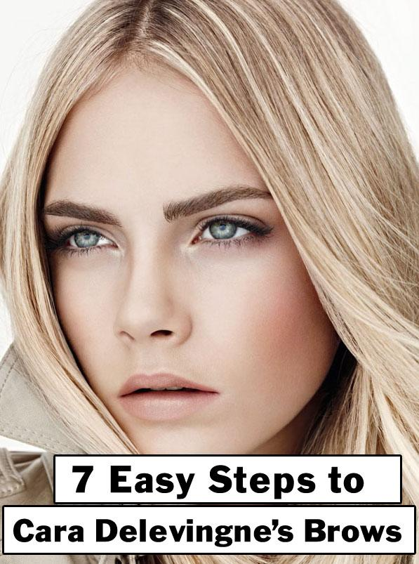 7 Steps To Cara Delevingne's Brows | Beth Bender Beauty