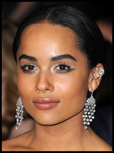 Get Zoe Kravitz's Winged Underliner Look from Divergent Premiere in LA | Beth Bender Beauty
