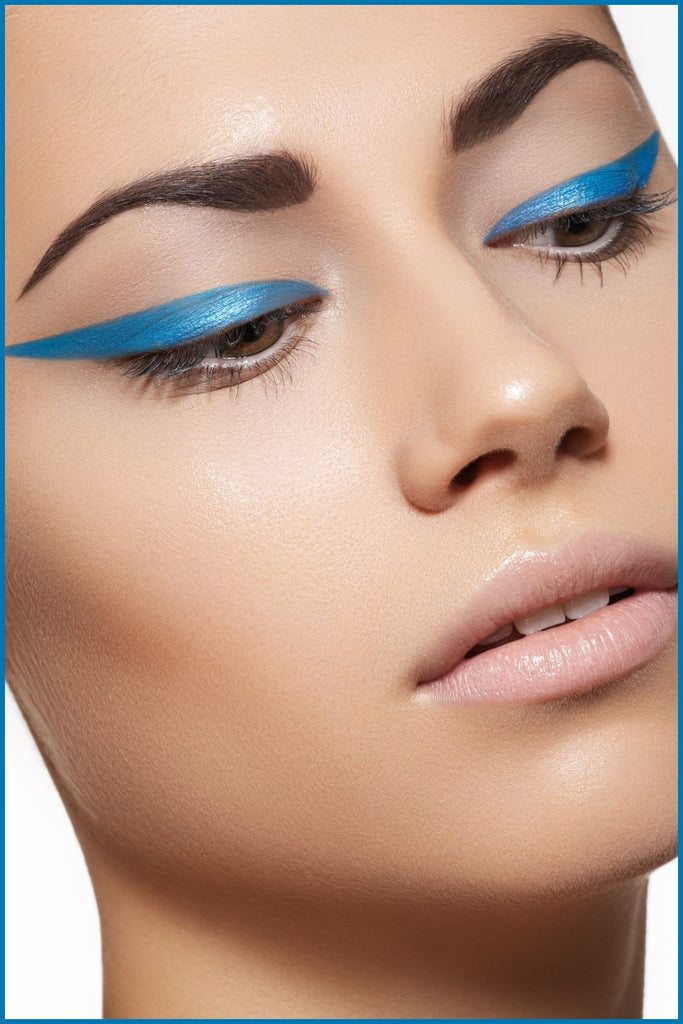 How to Put on Bright Blue Eyeliner | Beth Bender Beauty