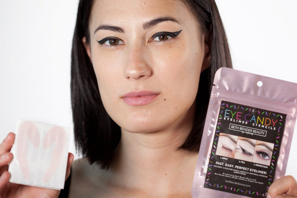 Why Using an Eyeliner Stencil will Change your Makeup Game Forever | Beth Bender Beauty
